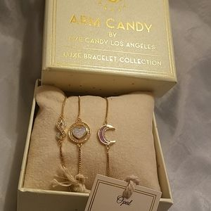 Eye candy set of 3 bracelets opal  New in…